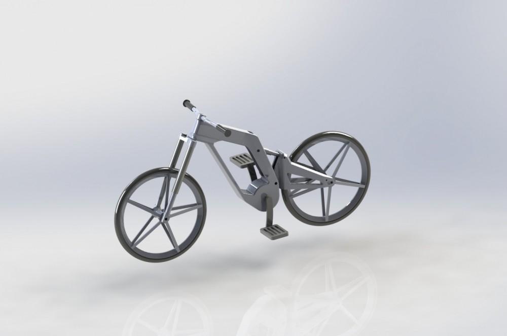 велосипед 3D