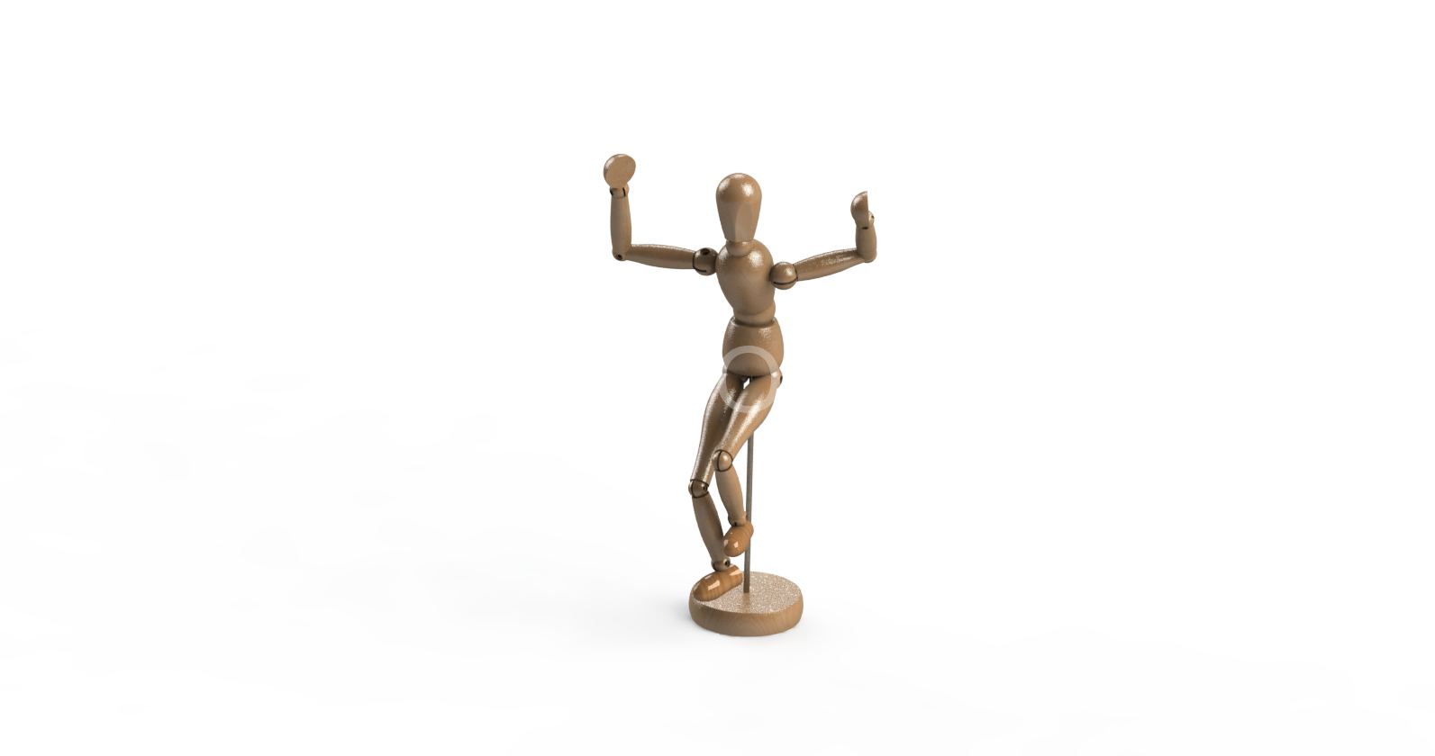 3D модель манекена