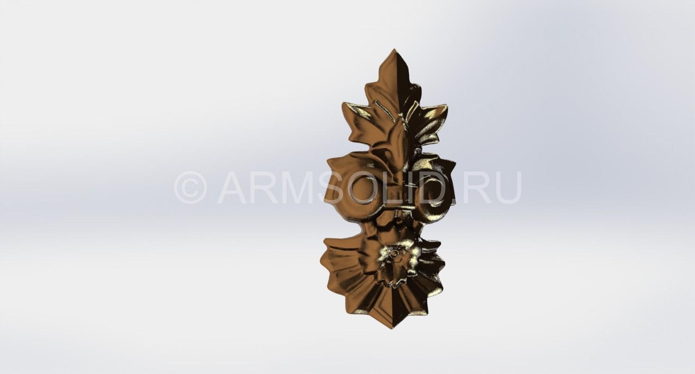 Цветок из бронза
