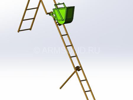 Подемник лестница